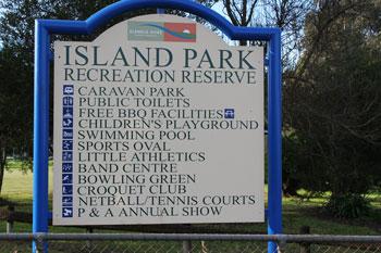 Island Park Reserve